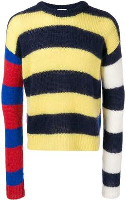 Aries oversized striped sweater