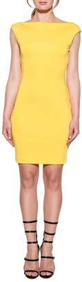 DSQUARED2 Yellow Stretch Dress