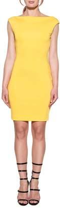 DSQUARED2 Yellow Stretch Dress