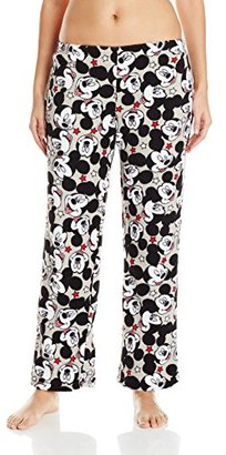 Disney Women's Ladies Plush Pants Mickey $24.74 thestylecure.com