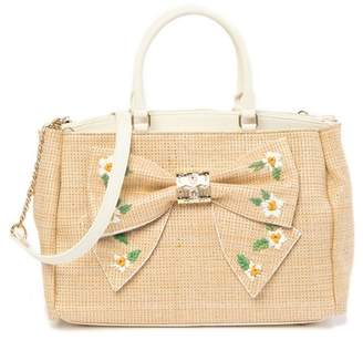 Betsey Johnson Daisy'd & Confused Bow Satchel