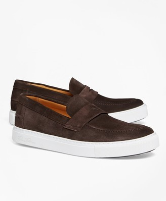 Brooks Brothers Penny Sneakers