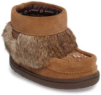 Manitobah Mukluks Snowy Owlet Genuine Fur Waterproof Boot