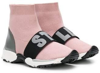 Stella McCartney slip-on logo sneakers