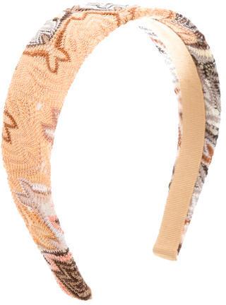 MissoniMissoni Multicolor Patterned Headband w/ Tags
