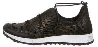 Jimmy Choo Mesh Low-Top Sneakers