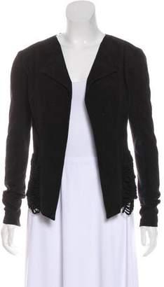 Veda Long Sleeve Suede Jacket