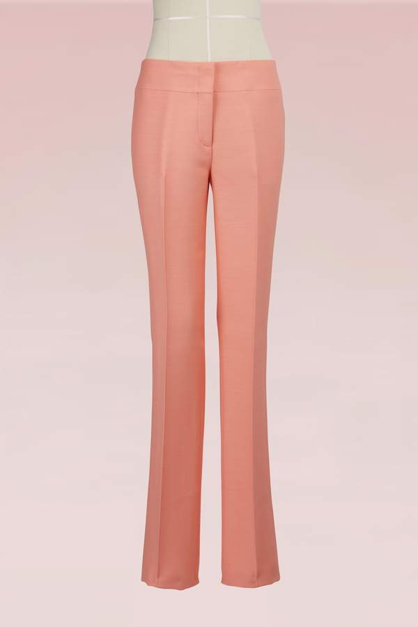 Emilio Pucci Wool and silk pants