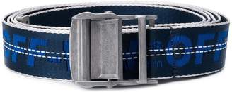 Off-White tape logo belt