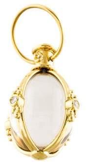 Temple St. Clair 18K Diamond & Crystal Classic Amulet Pendant