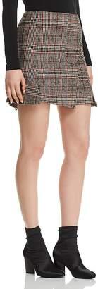 McQ Plaid Mini Skirt