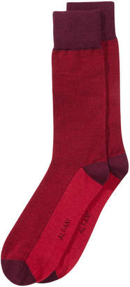 Alfani Men Pique Knit Dress Socks