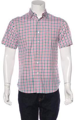 Shipley & Halmos Woven Short Sleeve Shirt
