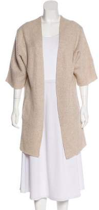 360 Cashmere Open Front Dolman Sleeve Cardigan