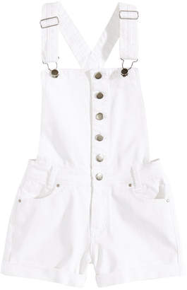 Nowadays Crisscross Straps Shortalls, Big Girls & Juniors