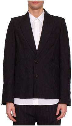 Ann Demeulemeester Wool Blazer Jacket