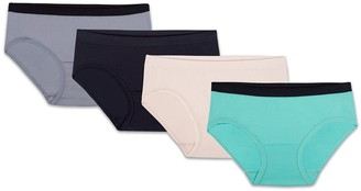98b0f48991 Fruit of the Loom Girls 8-18 4-pk. Seamless Hipster Panties