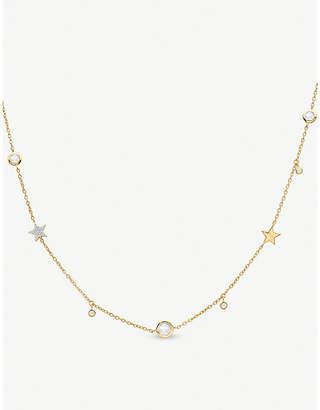 Missoma Ltd Interstellar Star 18ct gold vermeil necklace