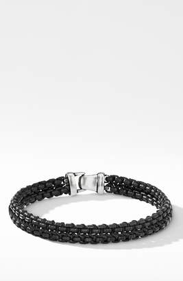 David Yurman Woven Box Chain Bracelet