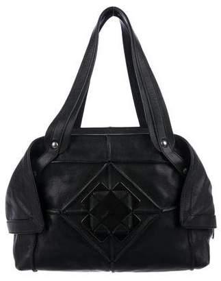 Salvatore Ferragamo Grained Leather Tote