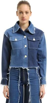 Tessa Fringed Cotton Denim Jacket