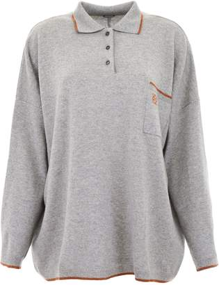 Loewe Polo With Embroidered Logo