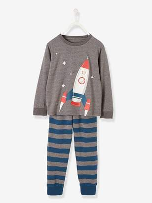 Vertbaudet Pyjamas with Glow-in-the-Dark Motif for Boys