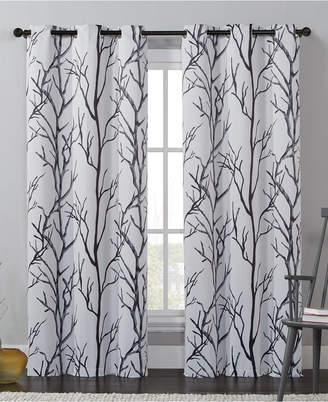 "Victoria Classics Kingdom Branch-Print 40"" X 84"" Blackout Window Panel"