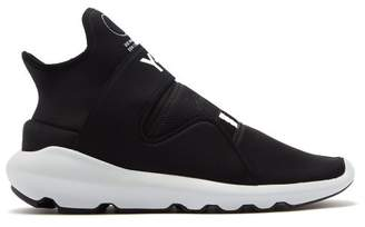 Y-3 Y 3 Suberou Neoprene Low Top Trainers - Mens - Black