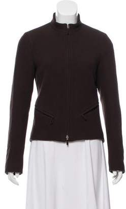 Burberry Wool Mock Neck Sweater