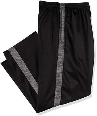 Russell Athletic Men's Big and Tall Poly FLCE Pant W/Side Panel Open Bottom Ron LFT Pkt