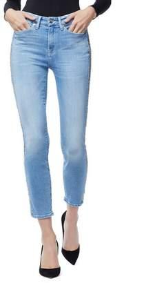 Good American Good Legs Chain Crop Skinny Jeans (Regular & Plus Size)