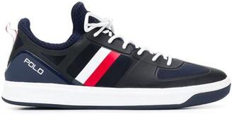 Polo Ralph Lauren stripe detail sneakerd