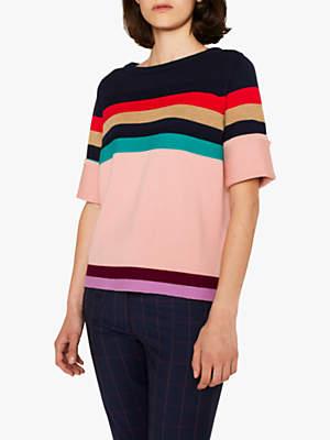 Paul Smith Stripe Jumper, Pink/Multi