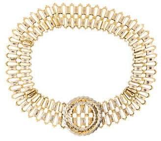Christian Dior Metal Waist Belt