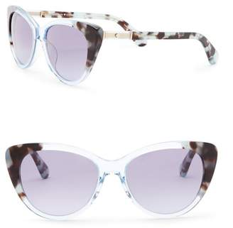 Kate Spade Sherylynn 54mm Cat Eye Sunglasses