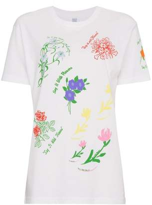 Rosie Assoulin floral printed t shirt