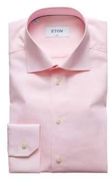 Eton Horizontal Stripe Dress Shirt