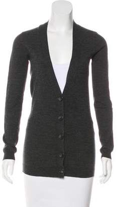 Theory Wool Button-Up Cardigan