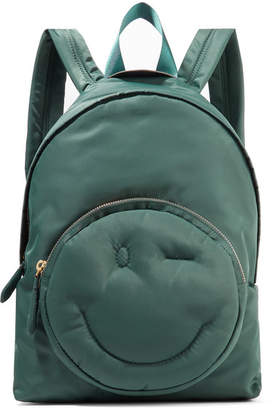 Anya Hindmarch Chubby Shell Backpack - Army green