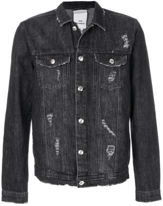 Won Hundred distressed denim jacket