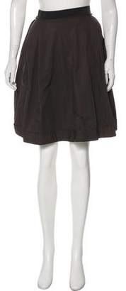 Lanvin Pleated Knee-Length Skirt