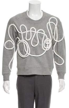 Burberry Rope Detail Jersey Sweatshirt