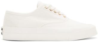 MAISON KITSUNÉ White Laced Sneaker