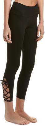 Betsey Johnson Lace-Up Ankle Legging