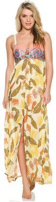 Maaji Sheer Freesia Maxi Dress $145 thestylecure.com