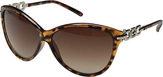 GUESS Women's Acetate Soft Cat-Eye Cateye Sunglasses