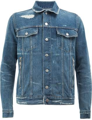 Balmain classic denim jacket