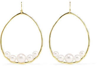 Ippolita Nova 18-karat Gold Pearl Earrings - one size