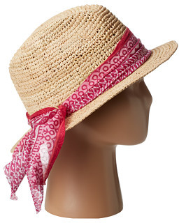 Hat Attack Fed Fedora with Fabric Band